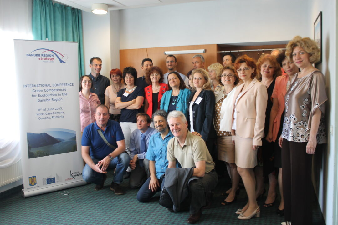 Expert Group Meeting on Green Competences for Ecotourism in the Danube Region, June 2015