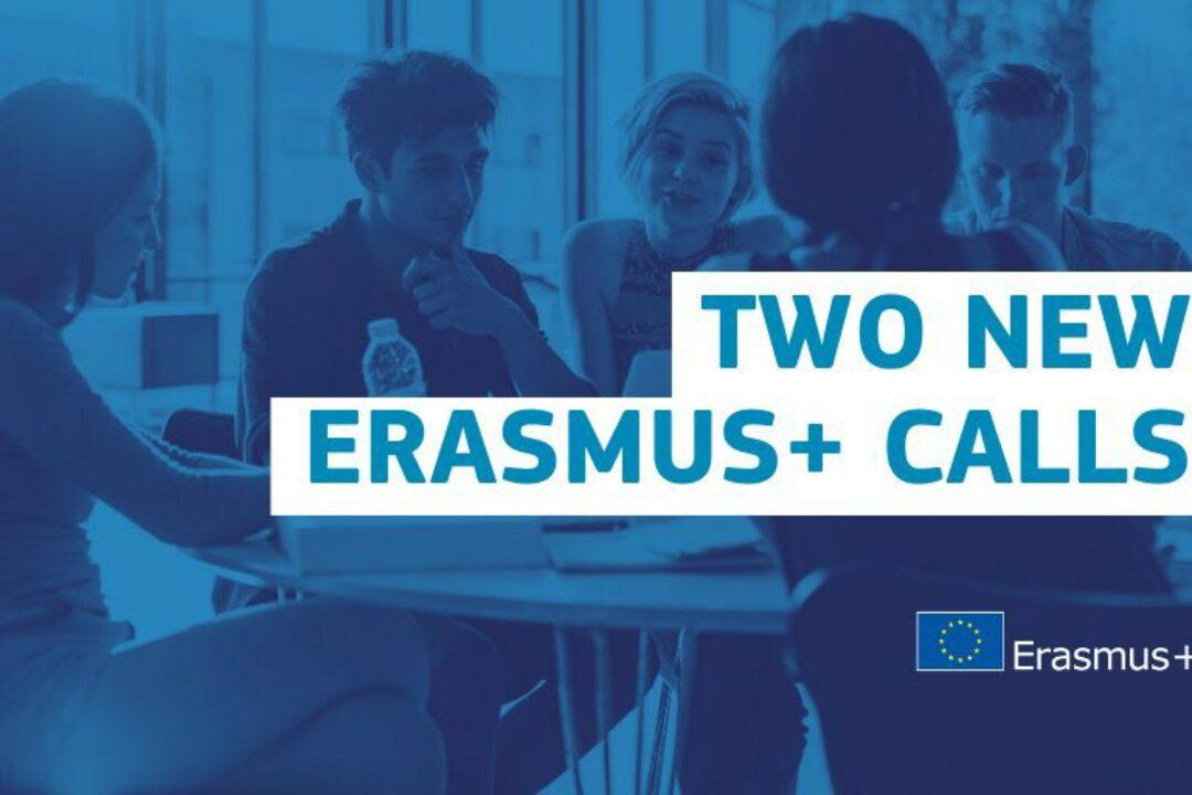 2 additional Erasmus+ calls: Digital Education & Partnerships for Creativity